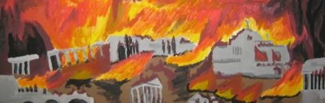 Stadtbrand Rom 680